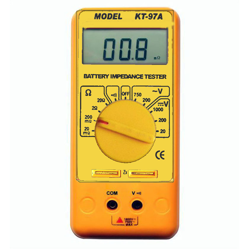 Battery Impedance Tester : Battery impedance tester mΩ resolution ebay